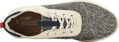 TOMS Men's Cabrillo Cotton/Poly Sneaker, Size: 11.5 D(M) US, Color: Birch Technical Knit by TOMS (Image #1)