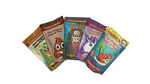 The Original Bag of Poo, Novelty Poop Cotton Candy Gag Gift (Original Variety Pack)]()