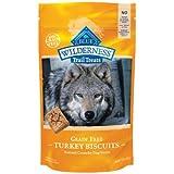 Blue Buffalo Wilderness Trail Treats Grain-Free Turkey Dog Biscuits, 10 oz., My Pet Supplies