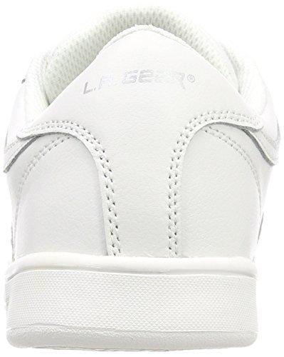 Leather L para Wht Gear Soft Mujer A 03 Lily Blanco Zapatillas Verginia vvqaSgC