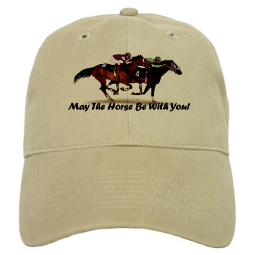 CafePress - May The Horse Be With You - Baseball Cap with Adjustable Closure, Unique Printed Baseball Hat