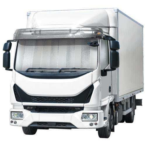 Truck HGV Lorry XXL large windscreen sunshade silver relective 1800mm x 900mm
