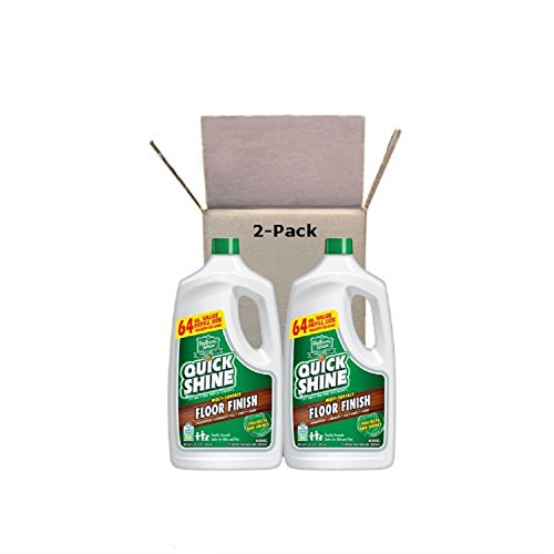 (Quick Shine Multi-Surface Floor Finish and Polish, 64 oz. Refill Bottles,  2 Pack)