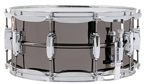 Beauty Ludwig Snare Black - Ludwig LB417 Black Beauty 6.5