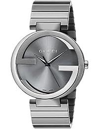 Interlocking Collection Stainless Steel Men's Watch(Model:YA133210)