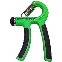 Adjustable Resistance Hand Grip For Strength Training - Green/Black, 10-40 Kg