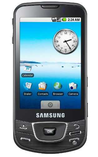 Samsung I7500 Android Unlocked Phone with 5 MP Camera, Wi-Fi, and 8 GB Memory--International Version No Warranty (Black)