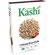 Kashi, Breakfast Cereal, 7 Whole Grain Puffs, Non-GMO Project Verified, 6.5 oz
