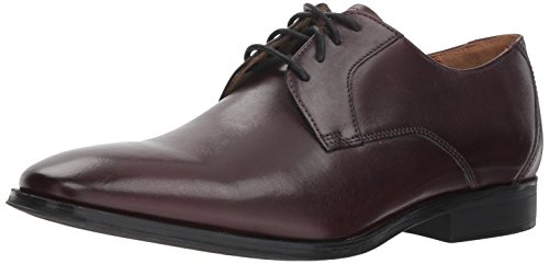 Mens Burgundy Oxfords - Clarks Men's Gilman Lace Shoe, burgundy leather, 9.5 M US