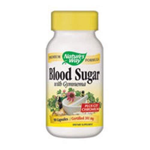 - Natures Way Blood Sugar with Gymnema (Packaging may vary)