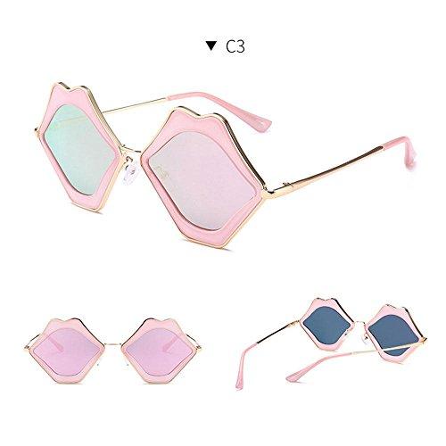 Lunette Femme Soleil de Pink pink Frame Frame Pink FOONEE Clear Z1Pqxwq