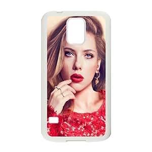 Samsung Galaxy S5 Cell Phone Case White Scarlett Johansson In Red Dress Bwjob