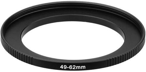 3 Pack Sensei PRO 49mm Lens to 62mm Filter Aluminum Step-Up Ring