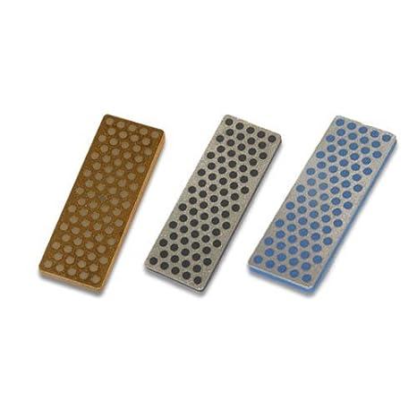 : 3 DMT Diamond Stones, 70 mm, Gray, Black, Blue : Ski ...