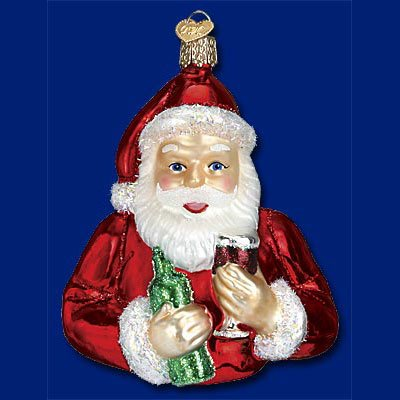 OLD WORLD CHRISTMAS Glass Ornament