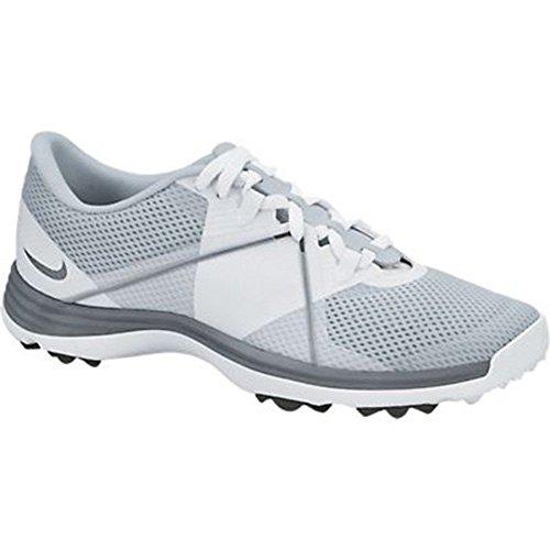 NIKE Golf Women's Lunar Summerlite2 Golf Shoe, Pure Platinum/Cool Grey/White, 10 B(M) US