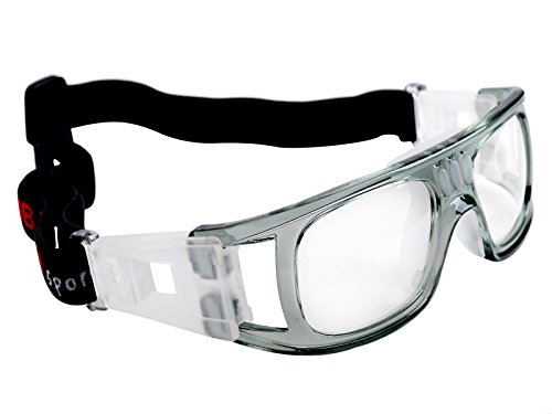 EGOODBEST Anti-collision Basketball Glasses Sports Goggles with Adjustable Strap for Basketball Football Tennis