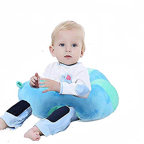 Baby Support Learn-to-Sit Seat For 0-12 Months Baby (Blue)