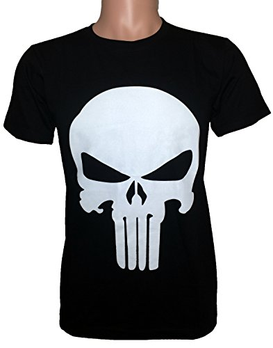 Ranger Return Men's The Skull T Shirt Tee Costume - Black (Large)