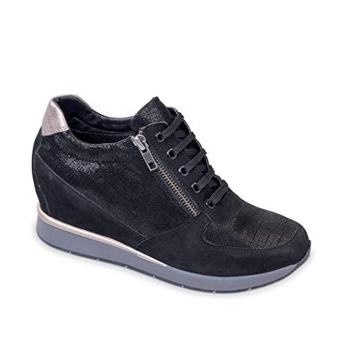 Valleverde Sneaker 36501 2019 Donna Camoscio inverno In Nero Scarpe Autunno 5tZtxrwq