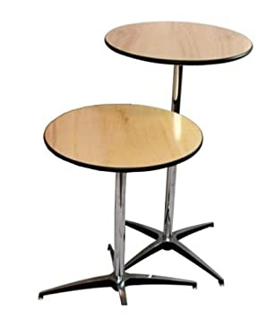 Plywood Highboy Table By Banquet Tables Pro