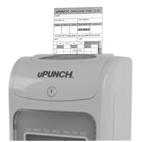 100 upunch time cards for hn4000 on sale - Upunch Time Cards