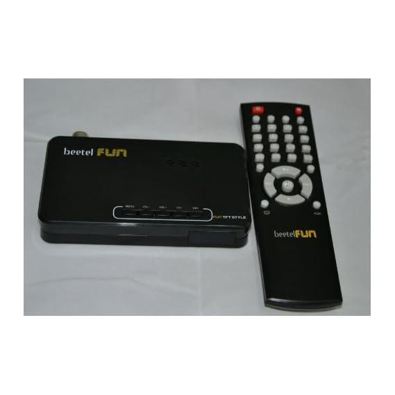 TECH-COM TTPL-444 Ultra HD 2048X1152 LCD TV Tuner With MP5 Player