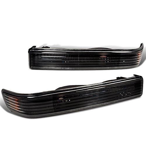 Spec-D Tuning 2LB-S1098JM-RS Chevy S10 Ls Extreme/ Gmc Sonoma Sl Sls Bumper Lights Black (Chevy Blazer Back Bumper compare prices)