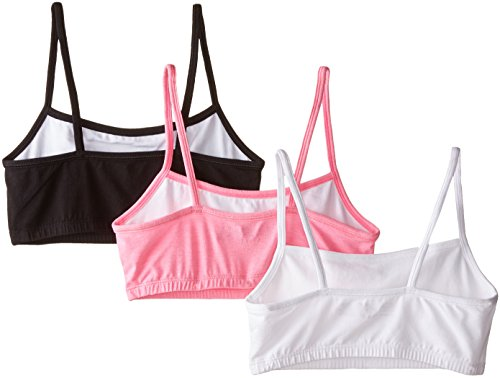 d6442385e1f08 Fruit of the Loom Women s Strappy Sports Bra 3 Pack