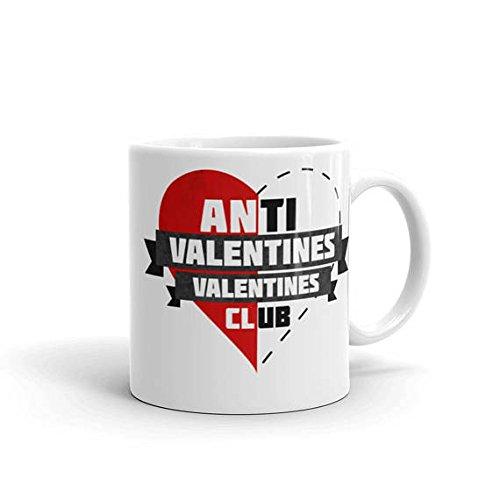 Anti Valentines Mug | Anti Valentines Gift | Anti Valentines Day Mug | Singles Day Gift | Galentines Day | Gifts for Singles | 11oz 15oz