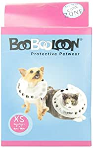 BooBooLoon Inflatable Pet Recovery Collar 1 Extra Small Size