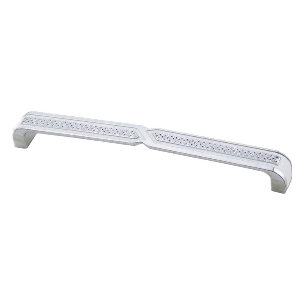 ROBAG Metal Cabinet Door Handle for Shoe Cabinet Wardrobe Kitchen Wine Cabinet Drawer Decoration and Installation use B Hole centres: 96 mm