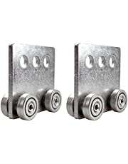 """Hi Flame 4 Wheel Trolley Assembly, Four Bearing Trolley Assembly for Taller Strut Channel or All 1-5/8"""" Channel"""