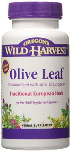 Olive Leaf – with 18% Oleuropeins (Oregon's Wild Harvest)