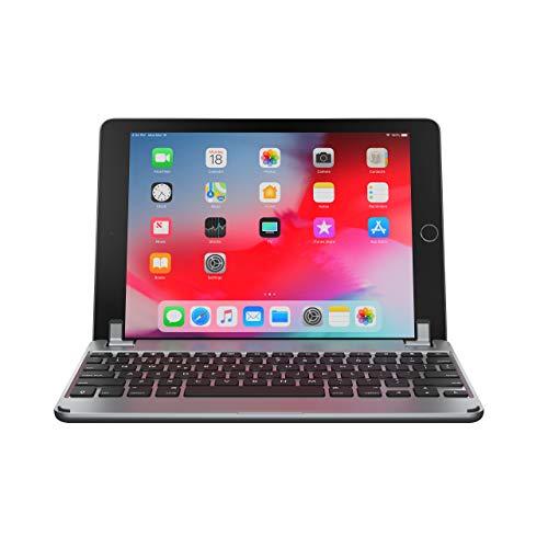 Brydge 9.7 Keyboard for iPad 9.7-inch for iPad 6th Gen (2018) | iPad 5th Gen (2017) | iPad Pro 9.7 inch | iPad Air 1 & Air 2 | Aluminum Bluetooth Wireless Keyboard (Space Gray) ()