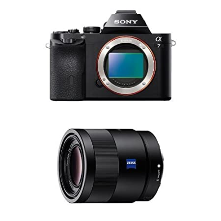 Sony ILCE7/B 24.3 MP a7 Interchangeable Digital Lens Camera with 3-Inch LCD Screen (Black)