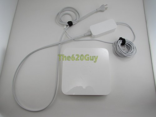 Apple A1408 AirPort Extreme Base Station 5th Generation Wireless Wi-Fi Router with 12V DC (Apple Computer Airport Extreme Base)