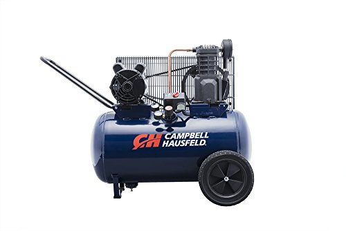 Campbell Hausfeld Air Compressor, 20-Gallon Horizontal Portable Single-Stage 5.5CFM 2HP 120/240V 1PH (VT6290) by Campbell Hausfeld