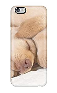 [HOSVqzY661SJRZv]premium Phone Case For Iphone 6 Plus/ Golden Retriever Puppies Sleeping Tpu Case Cover