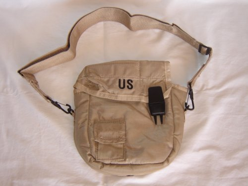 G.I. Military 2 Quart Canteen Cover - Desert (Army Surplus Canteen)