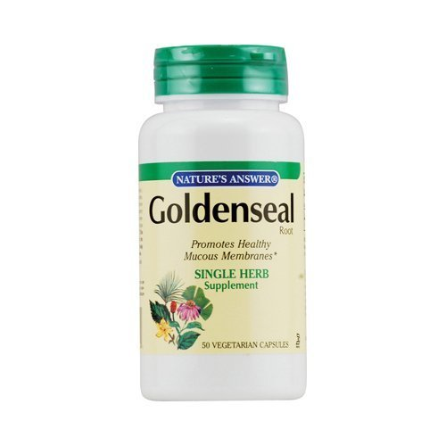 Nature's Answer Goldenseal Root 50 vcap ( Multi-Pack)