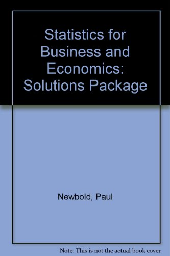 Basic Statistics For Business And Economics Pdf
