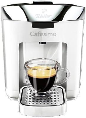 Tchibo Cafissimo Duo - Cafetera monodosis, color blanco: Amazon.es ...