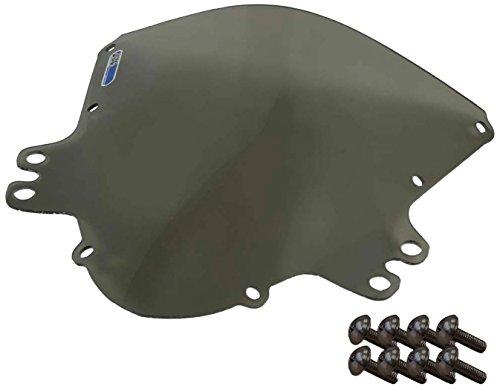 Sportbike Windscreens ADSW-205S Smoke Windscreen (Suzuki Gsxr 1000 (05-06) With Silver screw kit), 2 Pack