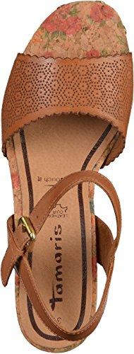 Tamaris1-1-28027-36-001 - zapatos de tacón Mujer Marrón - 440NUT