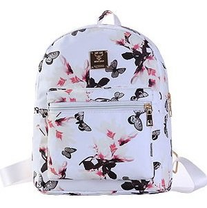 6bc99c8dd9 Image Unavailable. Image not available for. Colour  New Women Backpack  Flower Floral Backpacks ...
