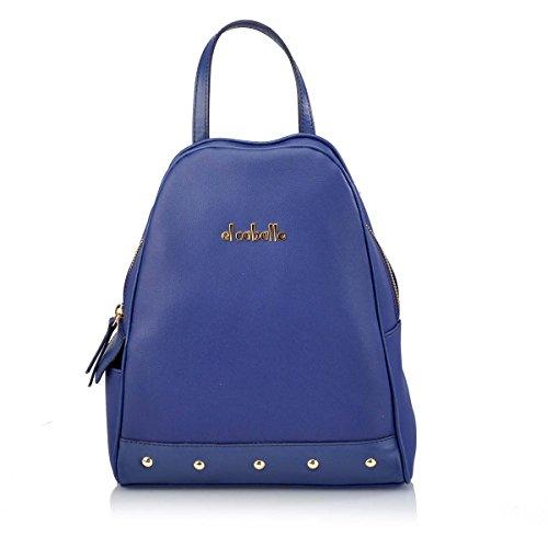 dos pour talla au 324 Bleu femme CABALLO 1027 EL unica porté bleu Sac main à z8WOfwTq