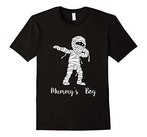 [Mens Halloween T-shirt Funny Dabbing Mummy Costume Gift Tee XL Black] (Ghost Mummy Costume)