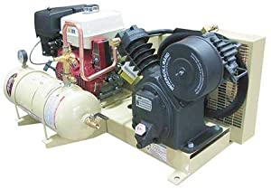 Stationary Air Compressor, 13 HP, 24 cfm by INGERSOLL-RAND