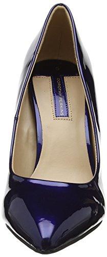 Dorothy Perkins Women's Emily Point Closed-Toe Heels Blue (Navy 100) vylbbapY